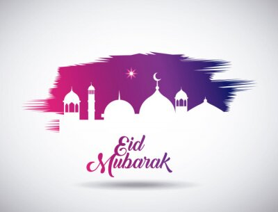 eid mubarak background icon vector illustration design graphic posters for the wall posters eid allah beatiful myloview com eid mubarak background icon vector illustration design graphic posters myloview