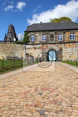 Poster Eingang zur Burg Bad Bentheim