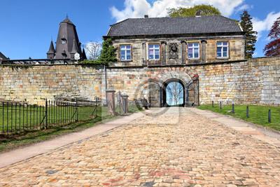 Poster Eingangsportal der Burg Bentheim