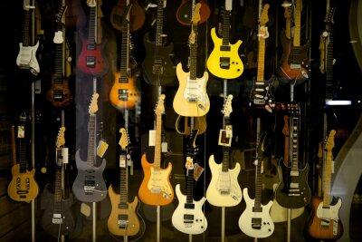Poster Electric guitars