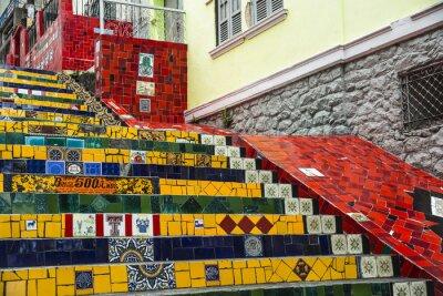 Poster Escadaria Selaron, Rio de Janeiro, Brazil