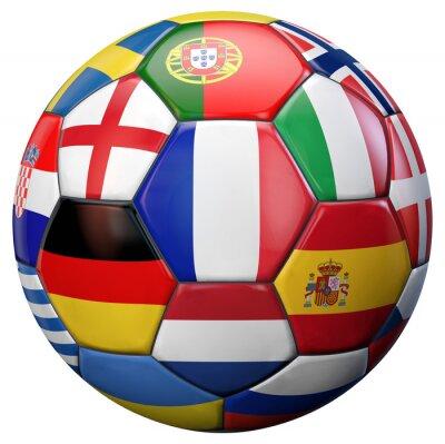 Poster European Football