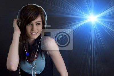 Poster Female DJ