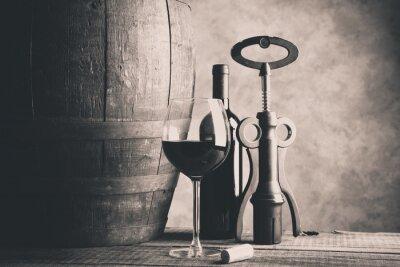Poster fine wine