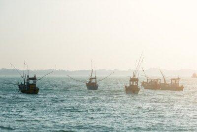 Poster Fishing boats