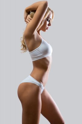Poster Fitness woman