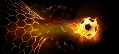 Poster flamy symbol