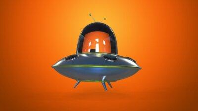 Poster Flying saucer