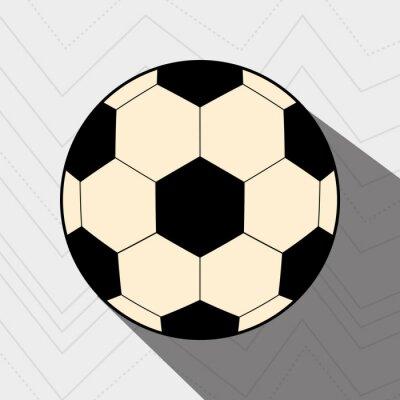 Poster football soccer design