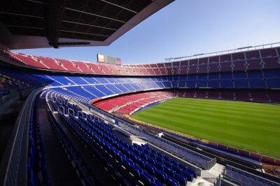 Poster football stadium