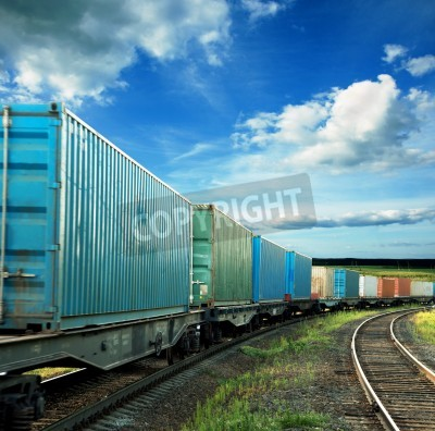 Poster freight cars