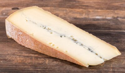 Poster French morbier cheese