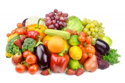 Poster fruits and vegetables