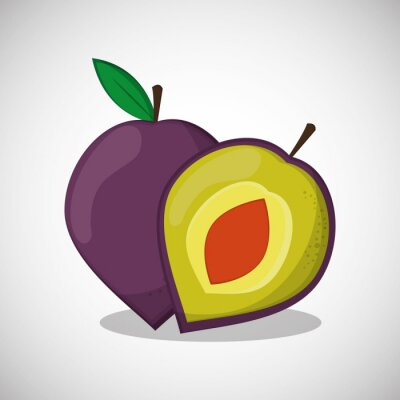 Poster Fruits icon design