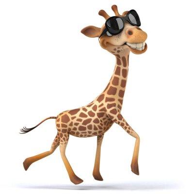 Poster Fun giraffe