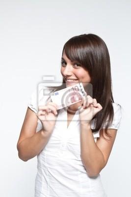 Give euro bills