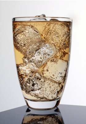 Poster GLASS OF GINGER ALE