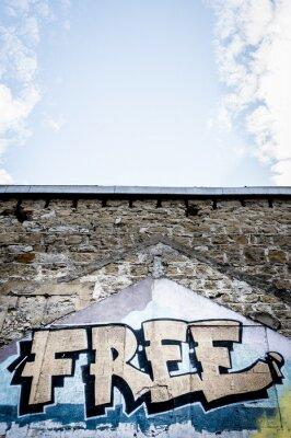 Poster Graffiti Free