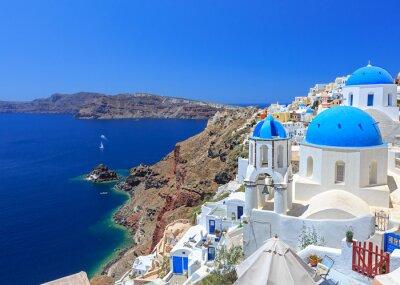 Poster Greece Santorini