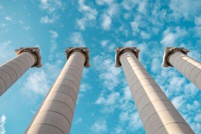 Poster Greek columns