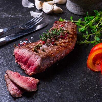 Poster grilled steak