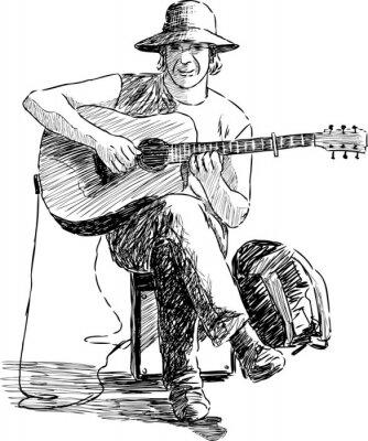 Poster guitarist