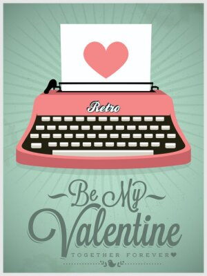 Poster Happy Valentine's Day