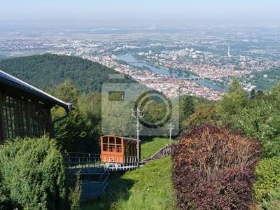 Poster Heidelberg from above