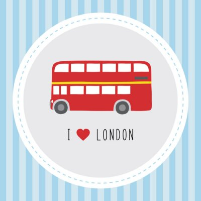 Poster I love London12