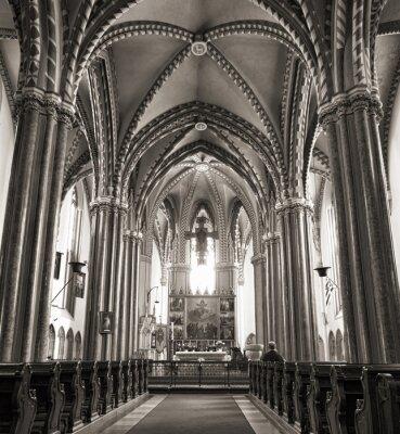 Poster Inner City Parish Church in Budapest