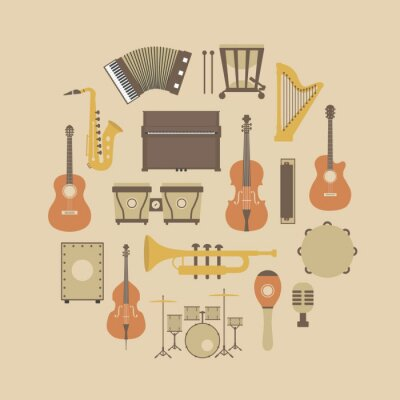 Poster instrument icon