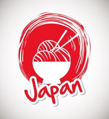Poster Japan culture design