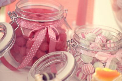 Poster Jar with sweets