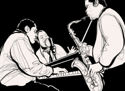 Poster Jazz band