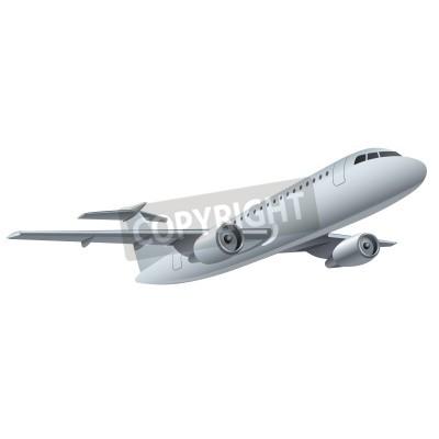 Poster jet airplane