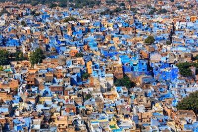 Poster Jodhpur the Blue city, Rajasthan, India
