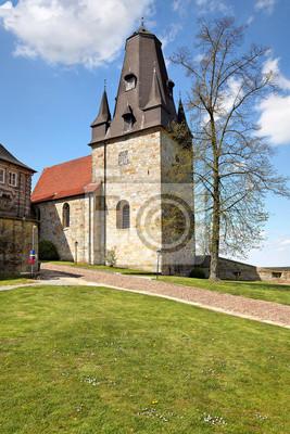 Poster Katharinenkirche Burg Bad Bentheim