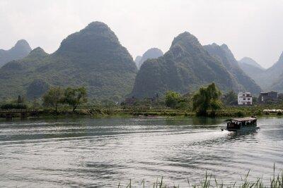 Poster krajobraz okolic Yangshuo