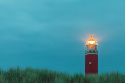 Poster Lighthouse at the Dutch island of Texel