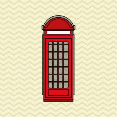 Poster london icon design