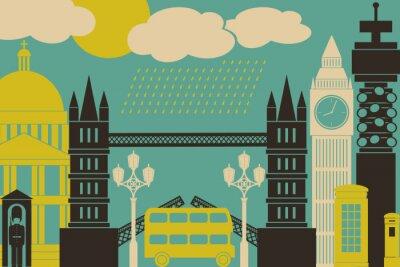 Poster London View