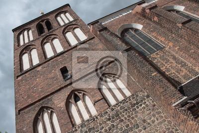 Poster Mächtige St. Nikolai-Kirche in Luckau