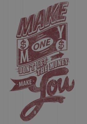 Poster Make money