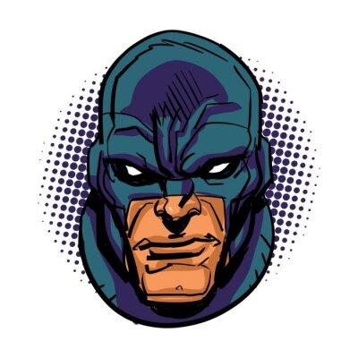 Poster Masked Superhero