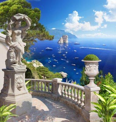Poster Mediterranean landscape