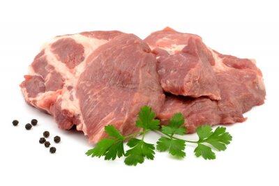 Poster mięso wieprzowe karkówka