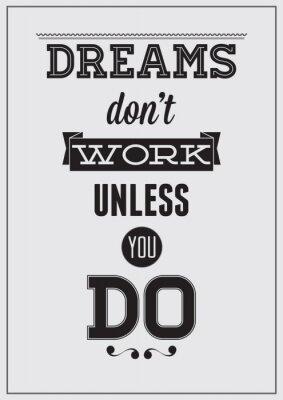 Poster Motivational poster