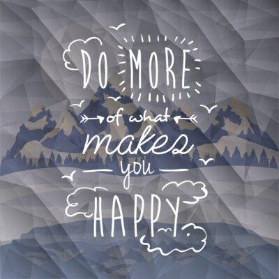 Poster motivational poster message design