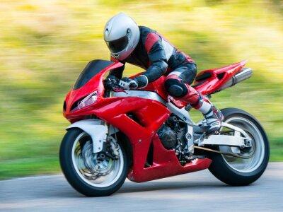 Poster Motorbike racing
