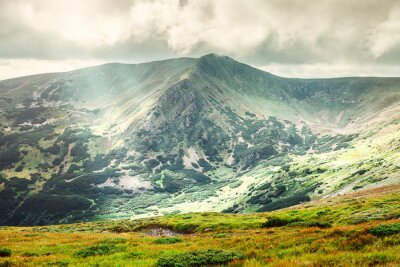 Poster Mountain landscape in summer